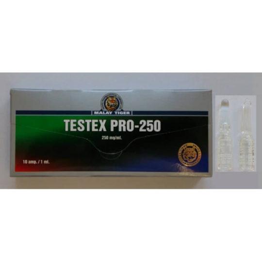 Testex Pro-250 box 10 x 250mg Testosterone Cypionate for BodyBuilding