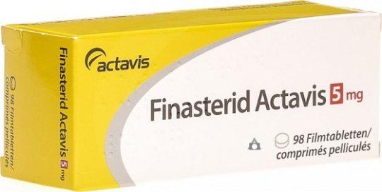 Finasterid Actavis 5mg BocaPharm