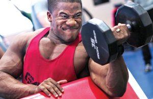 Strong bodybuilder