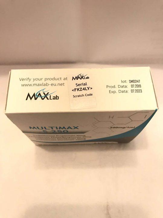 Max Lab MultiMax S 250 (Sustanon)