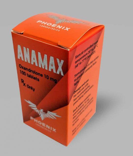 Phoenix Laboratories ANAMAX (Oxandrolone) Tablets