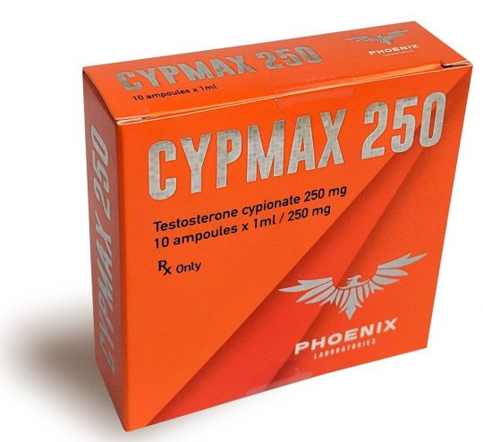 Phoenix Laboratories CYPMAX 250 (Testosterone Cypionate)