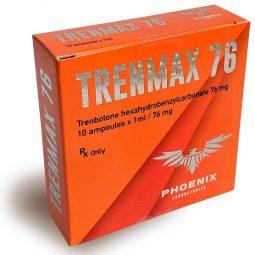 Phoenix Laboratories TRENMAX 76 (Trenbolone Hexahydrobenzylcarbonate)