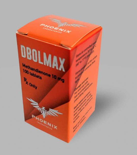 Phoenix Laboratories DBOLMAX (Methandienone) Tablets